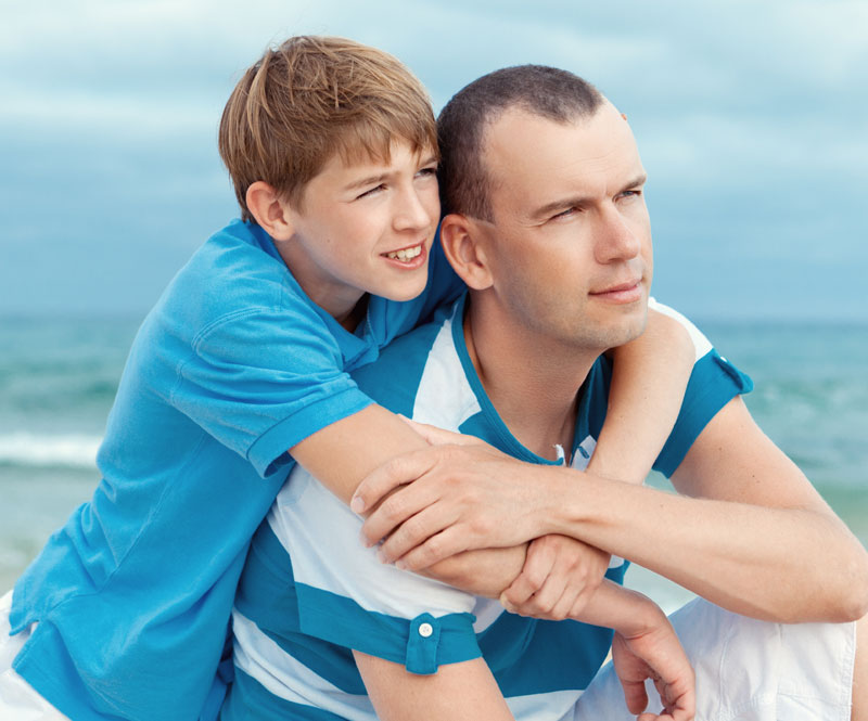Boy and Dad